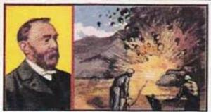 Sunblest Tea Trade Card Inventions & Discoveries 1960 No 9 Dynamite Alfred Nobel