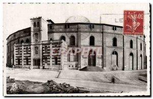 Old Postcard Bullfight Bullfight Beziers The arenas