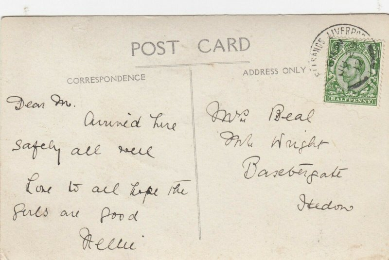 RP: BLUNDELLSANDS , Merseyside , England , 1912 ; BLUNDELLSANDS Rd West
