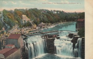 ROCHESTER , New York , 1900-10s; Lower Falls of the Genesee River
