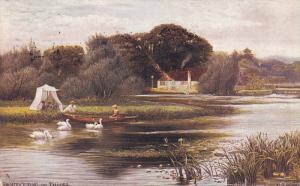 TUCK #7121 , Picturesque Thames Series , England , PU-1906 ; PANGBOURNE