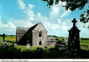 Ireland Co Mayo Ballintubber Abbey Founded 1216