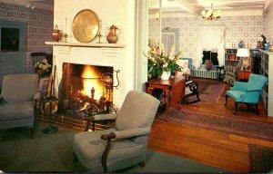 Connecticut Lakeville Interlaken Inn Homey and Comfortable Lobby 1968