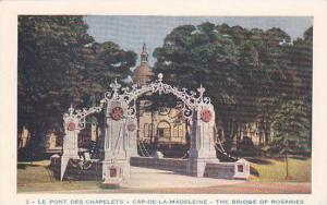 The Bridge Of Rosaries, Cap-De-La-Madeleine, Quebec, Canada, 40-60s