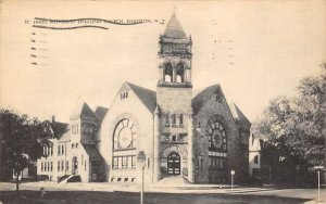 St James Methodist Church Kingston, New York Postcard