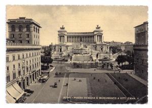 Italy Rome Piazza Venezia Vitorrio Emanuele Monument Capello