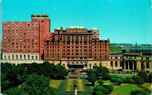 Halifax NS Canada Hotel Nova Scotian Postcard used 1950s