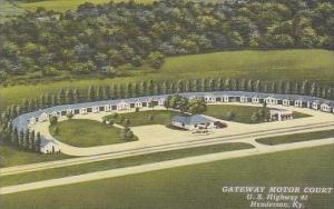 Kentucky Henderson Gateway Motor Court U S Highway 41