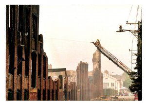 CT - Stonington. Mill Fire, 2003