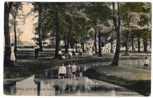 Buffalo, N.Y., Wading Pool, Riverside Park
