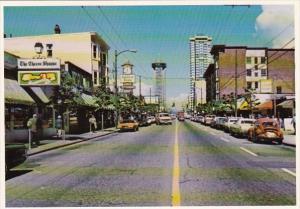 Canada British Columbia Vancouver Robson Street