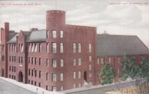 ST PAUL , Minnesota, 1900-10s; Armory Exterior