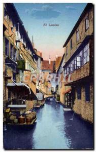 Old Postcard Alt Landau