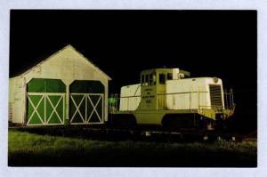 NY Lowville & Beaver River Railroad Train New York Postcard RR Croghan  PC