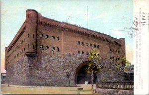 Chicago IL~First Regiment Armory~Guard For Millionaire Homes~Razed 1967~1909