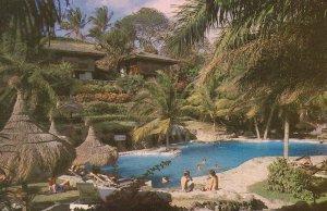 Punta Baluarte Swimming Pool Philippines Hotel Postcard