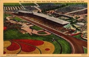 California Arcadia Santa Anita Park Derby Day Los Angeles Turf Cl...