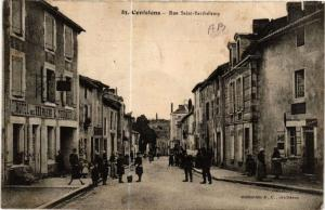 CPA CONFOLENS - Rue St-Barthelemy (654356)