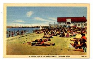 MA - Fairhaven. Fort Phoenix Beach