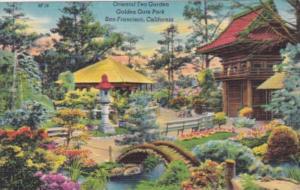 California San Francisco Oriental Tea Garden Golden Gate Park