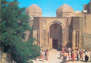 Postcard Uzbekistan Bukhara Magoki Attari Mosque tourist group