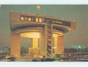 Pre-1980 worlds fair HELIPORT & EXHIBIT BUILDING Queens - New York City NY G1702