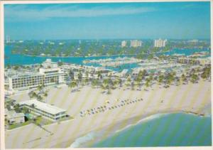Florida Fort Lauderdale Beach Aerial View