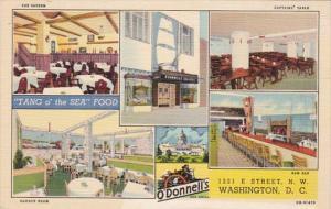 Washington D C O'Donnell's Sea Food Restaurant Curteich