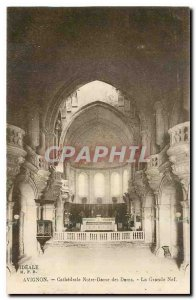 Old postcard Avignon Cathedrale Notre Dame Dome of The Great Nave