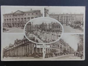 Ireland DUBLIN 5 Image Multiview c1949 - Old Postcard
