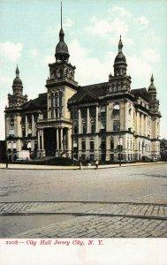 City Hall, Jersey City, N.Y. (instead of N.J.) Early Postcard, Unused