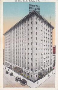 New York Buffalo Hotel Statler 1920