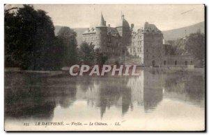 Old Postcard Vizille The Castle