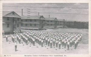 Pennsylvania New Cumberland Reception Center Calisthenies 1944