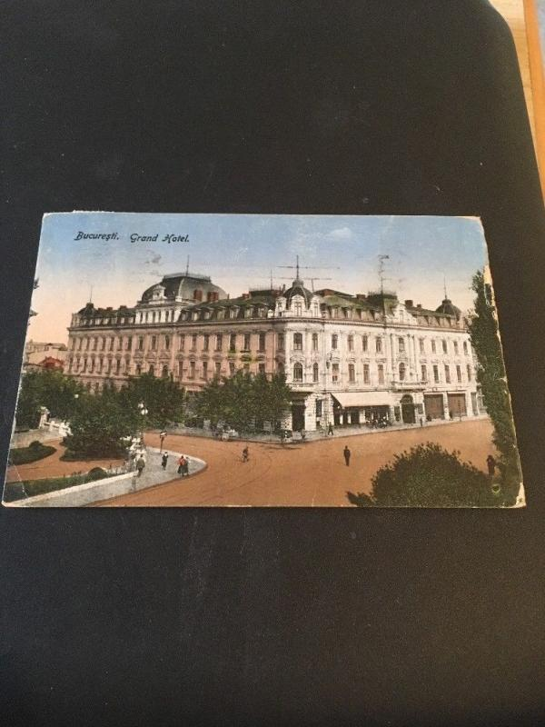 Vintage Postcard:Bucuresti Grand Hotel