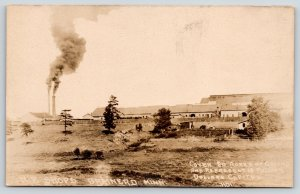 Brainerd Minnesota~Northern Pacific Railroad Shops Panorama~20 Acres~1920s RPPC