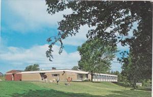 Exterior,  Haileybury High School,  Haileybury Northern Ontario,  Canada,  40...