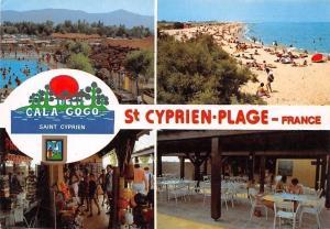 France La Cote Vermeille, St. Cyprien Plage, Divers aspects du Camping Cala Gogo
