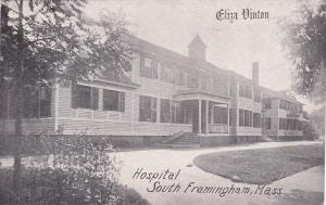 Eliza Vinton Hospital , SOUTH FRAMINGTON , Massachusetts , 00-10s