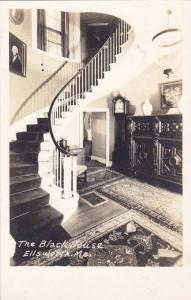 RP; Interior of The Black House, Ellsworth, Maine, 10-20s