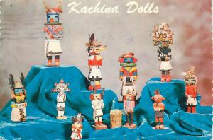 Kachina Doll Collection Southwest Native American Indians Postcard
