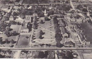 North Carolina Greensboro An Aerial View Of Bennett College Albertype