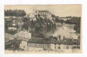 La Cathedrale Saint-Alain Et Les Rives De l'Agout, Lavaur (Tarn), France, 190...