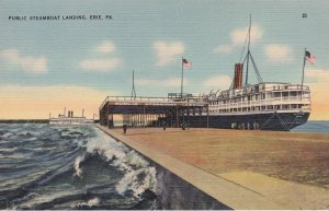 ERIE , Pennsylvania , 30-40s ; Steamboat Landing