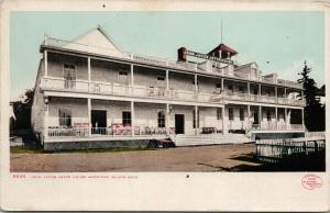 John Jacob Astor House Mackinac Island Michigan MI UNUSED Postcard D87