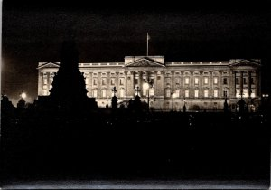 England London Buckingham Palace By Night