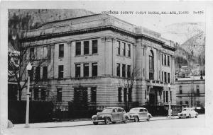 F26/ Wallace Idaho RPPC Postcard c1920s Shoshone County Court House