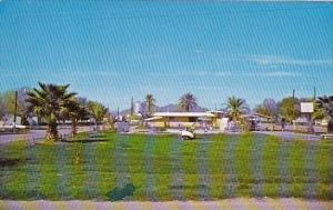 Arizona Gila Bend Palms Mobil Inn With Pool 1970