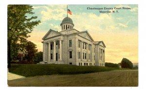 NY - Mayville. Chautauqua County Courthouse