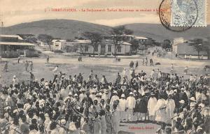 Ethiopia Dirre-Daoua, Dedjazmatch Taffari Makonnen se rendant a la Gare, visit